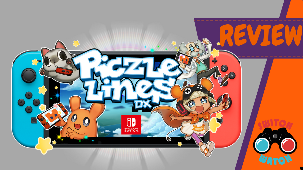 Piczle Lines DX Review Nintendo Switch Review by SwitchWatch