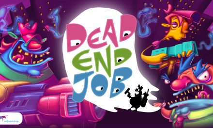 Blast Ghosts on the go! Dead End Job is coming to Nintendo Switch™