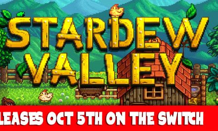 STARDEW VALLEY SWITCH RELEASE AND FUTURE CO-OP MODE.