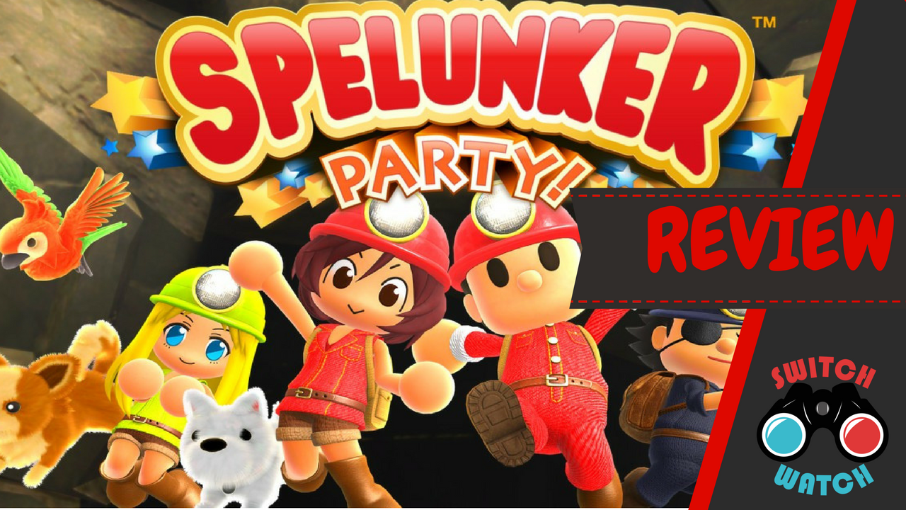 Spelunker Party Nintendo Switch Review