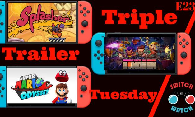 Splasher-Enter the Gungeon-Super Mario Odyssey-Trailer Tuesday