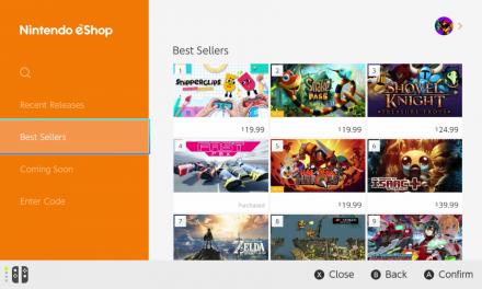 Nintendo Switch eShop Black Friday Sales