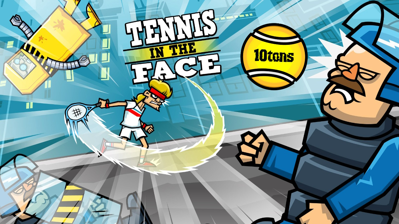 Tennis In The Face title screen