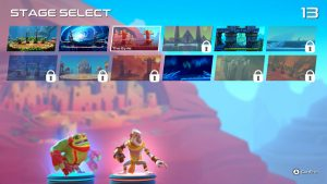 Brawlout stage select screen