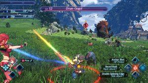 Battling in Xenoblade Chronicles 2