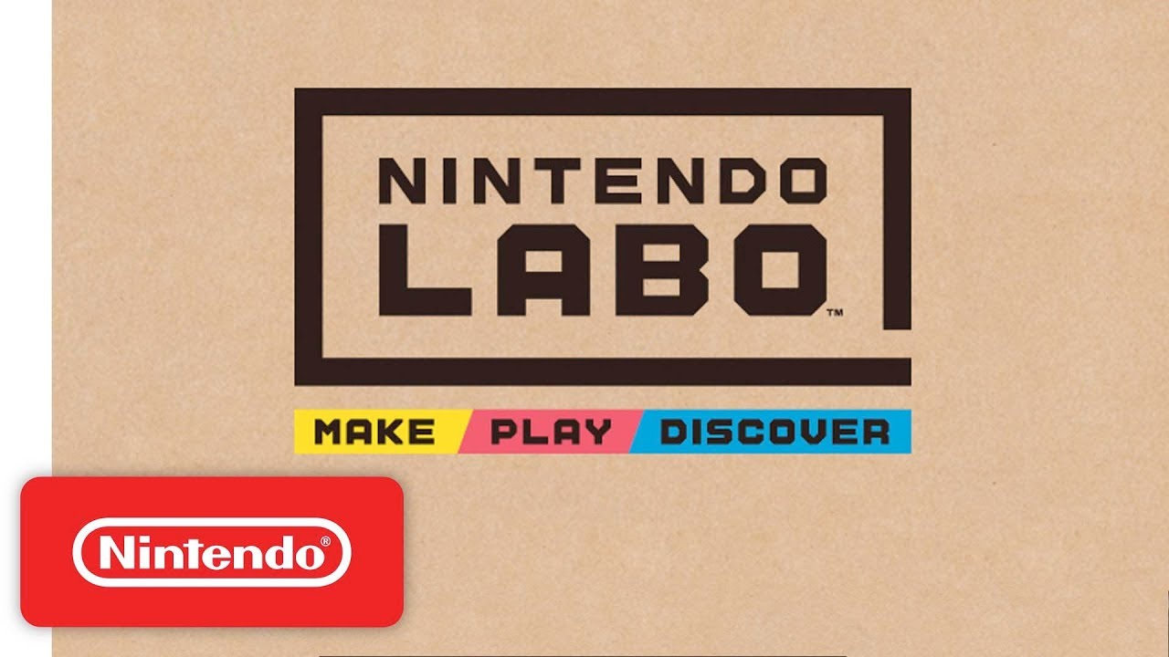 Nintendo Labo announced