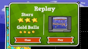 Replay Screen in Baseball Riot