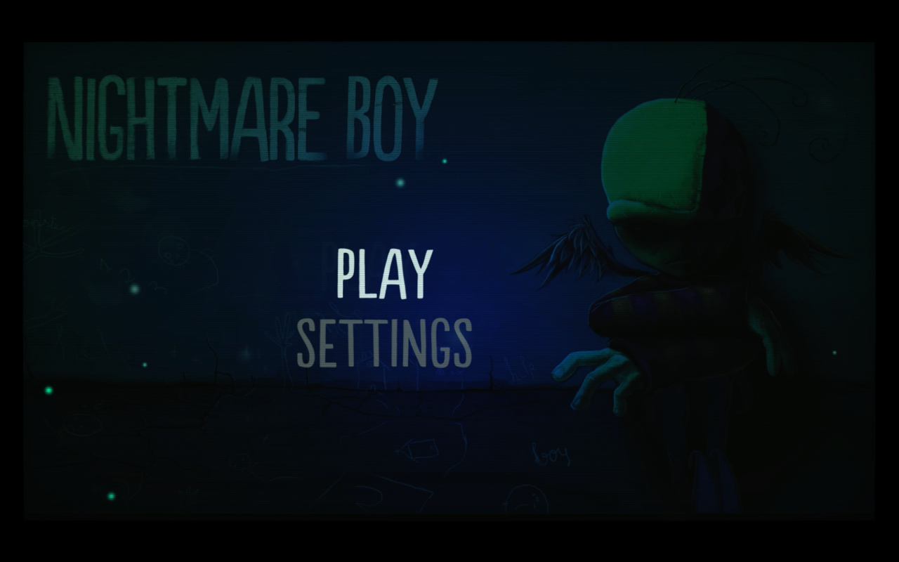 Nightmare Boy title screen