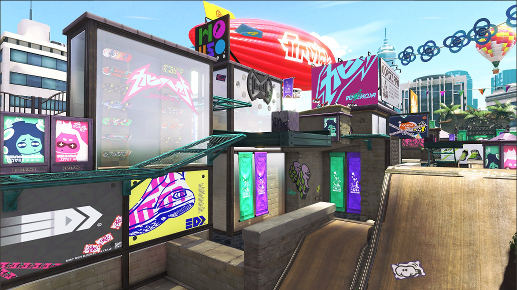 Splatoon 2 Arowana Mall Comparison