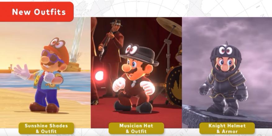 Nintendo releases free Super Mario Odyssey Luigi's Balloon World update