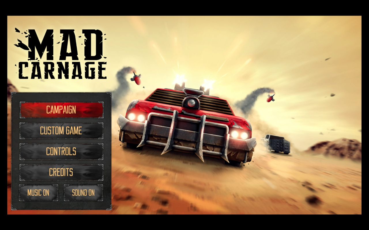 mad carnage title screen switch
