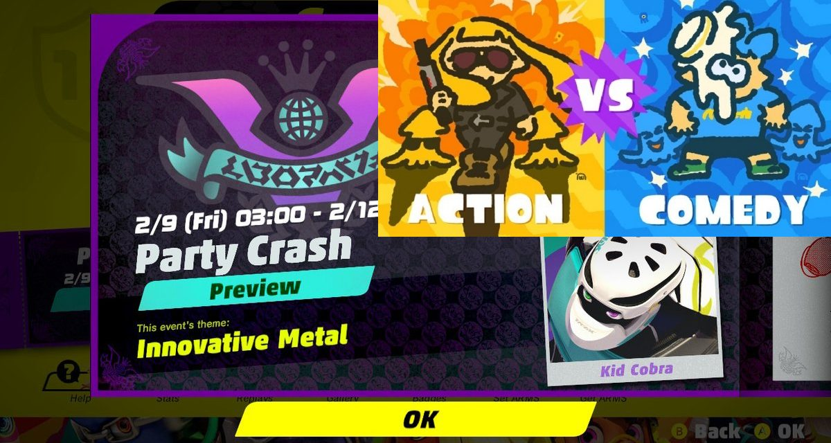 The Strength of Splatfest and Party Crash