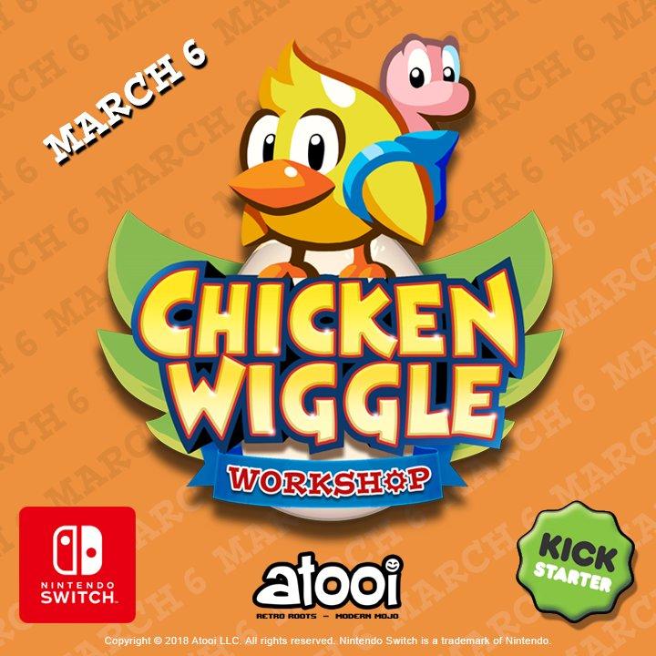 Chicken wiggle kickstarter banner