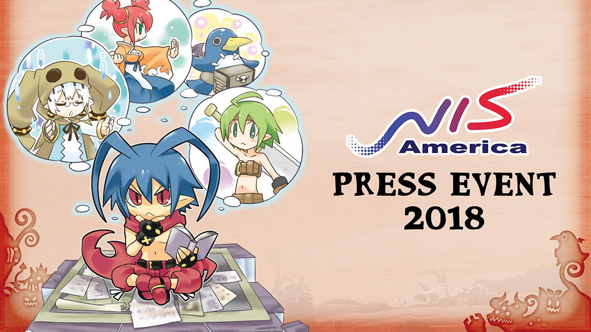 nis america press event 2018