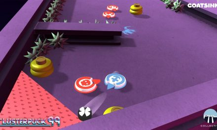 ClusterPuck 99 – smashing its way on the Switch this month