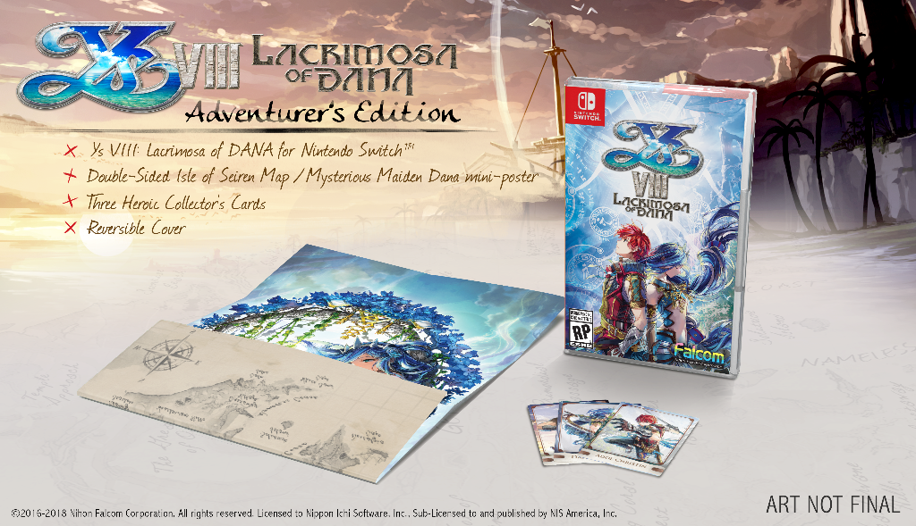Ys VIII: Lacrimosa of DANA Arrives on Nintendo Switch™ This June!