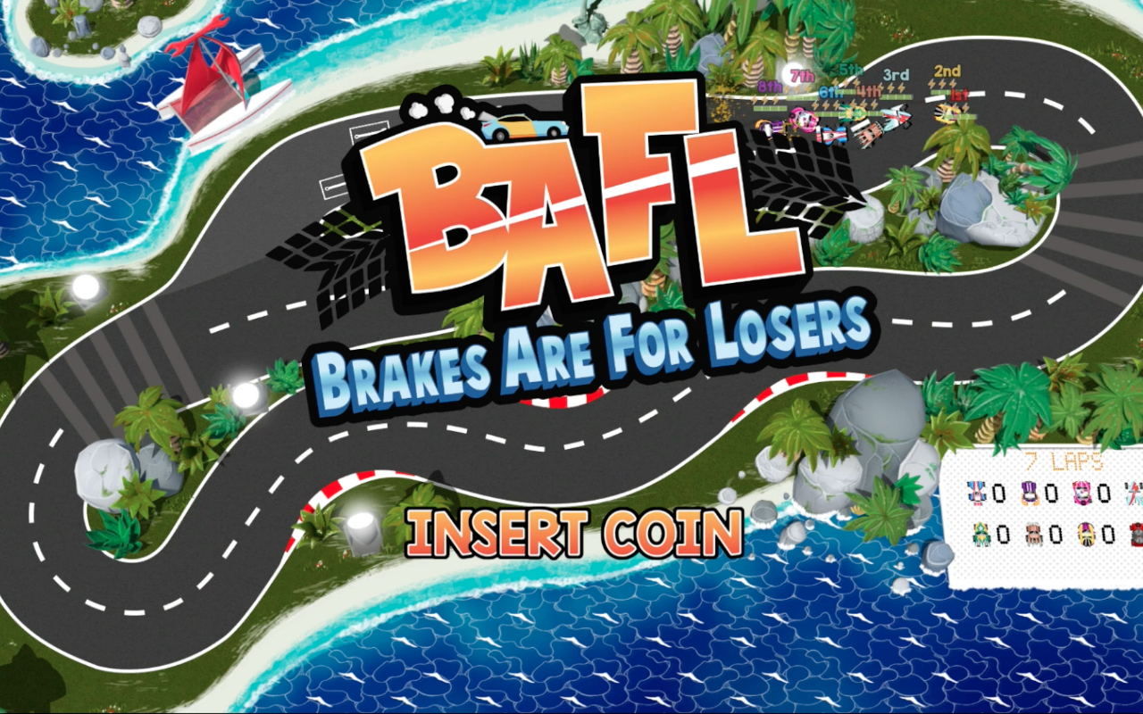 brakes are for losers title screen
