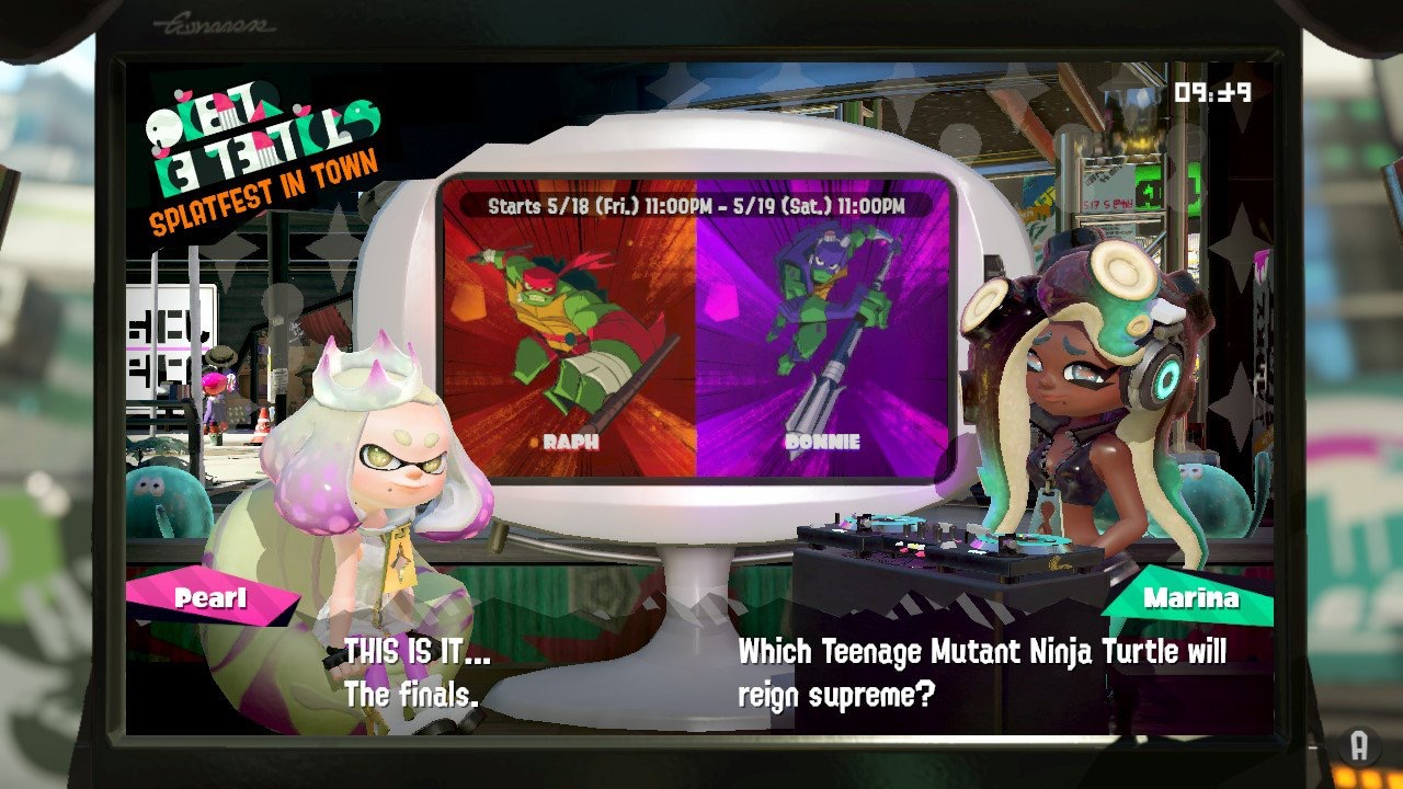 Splatfest Tournament Finals - Raph vs. Donnie