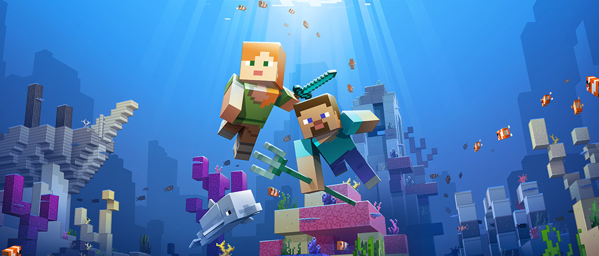 Minecraft's Update Aquatic details