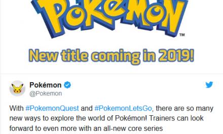 Pokemon Gen 8 Coming To Nintendo Switch in 2019
