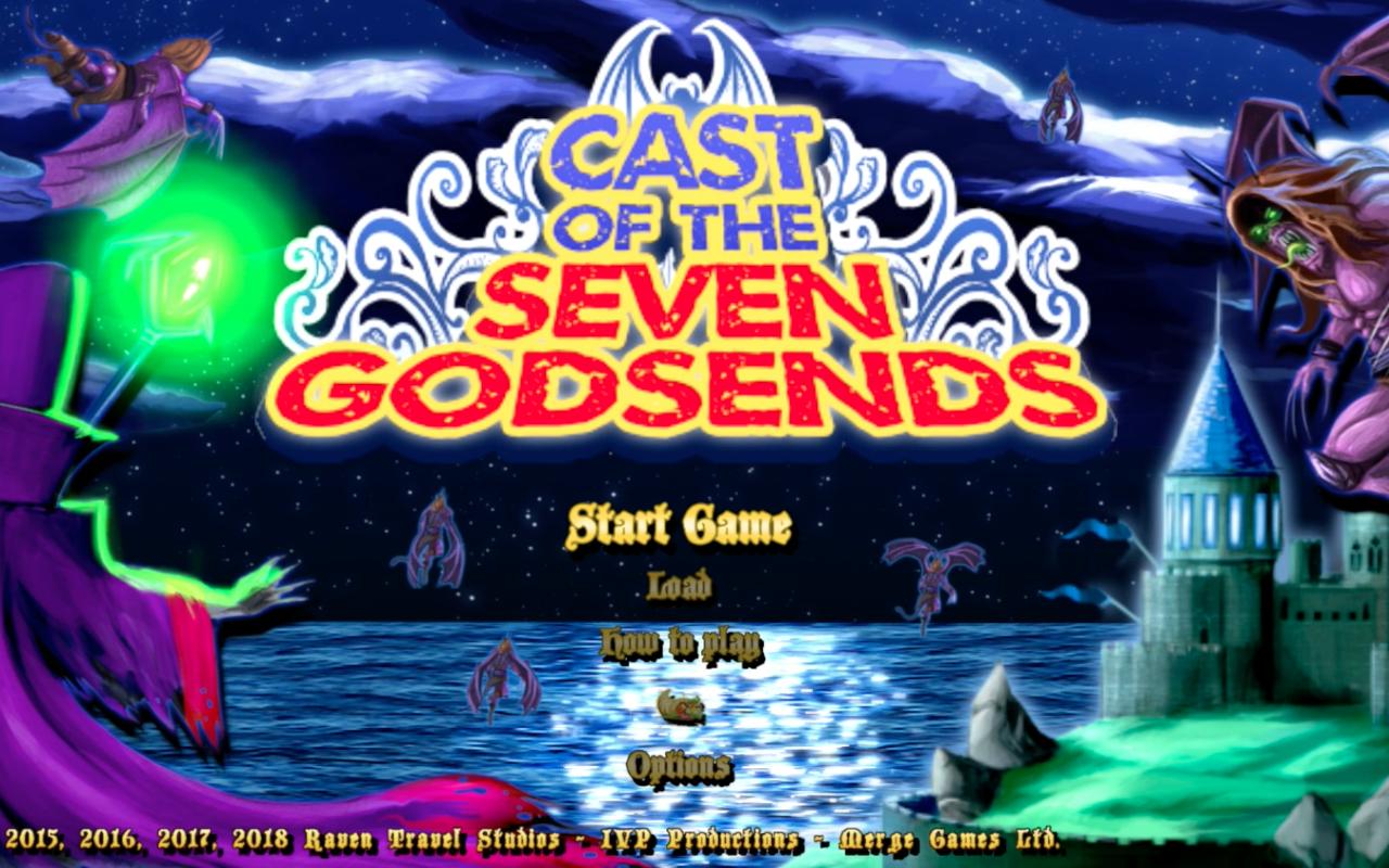 cast godsends title screen