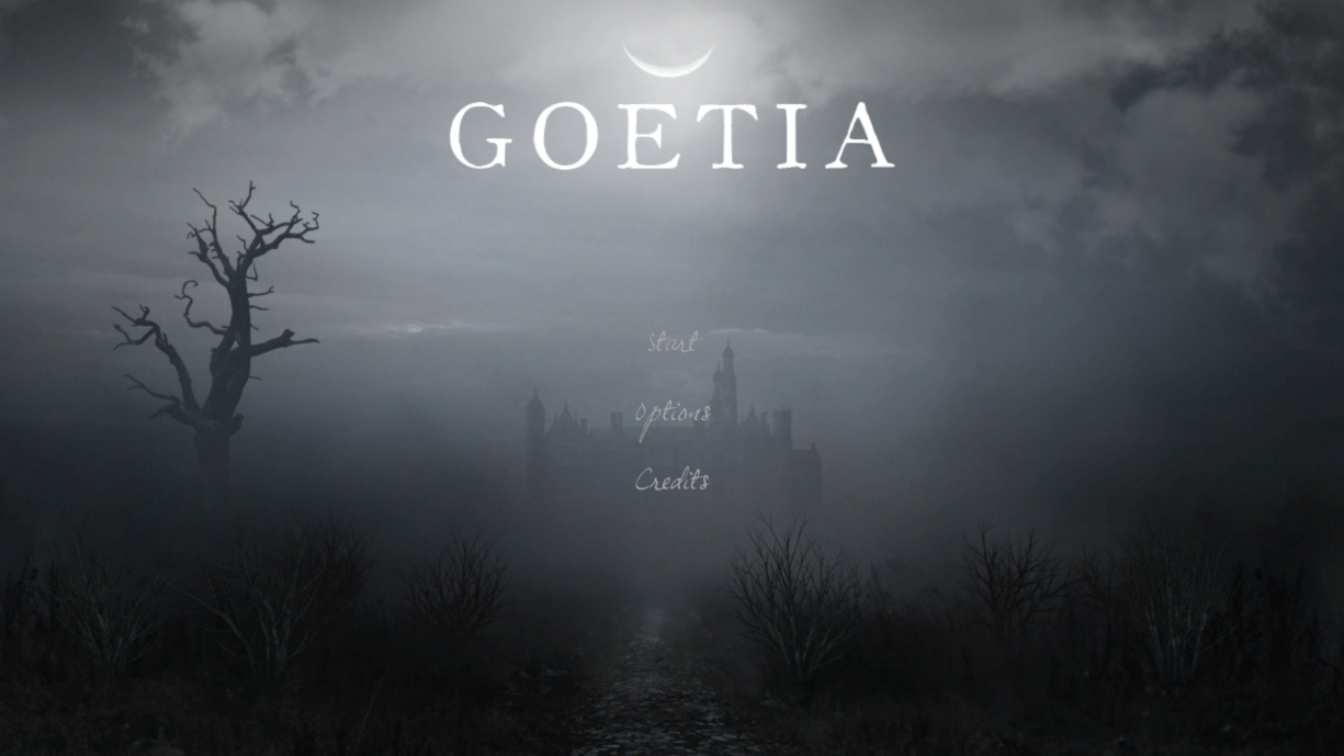 goetia title screen