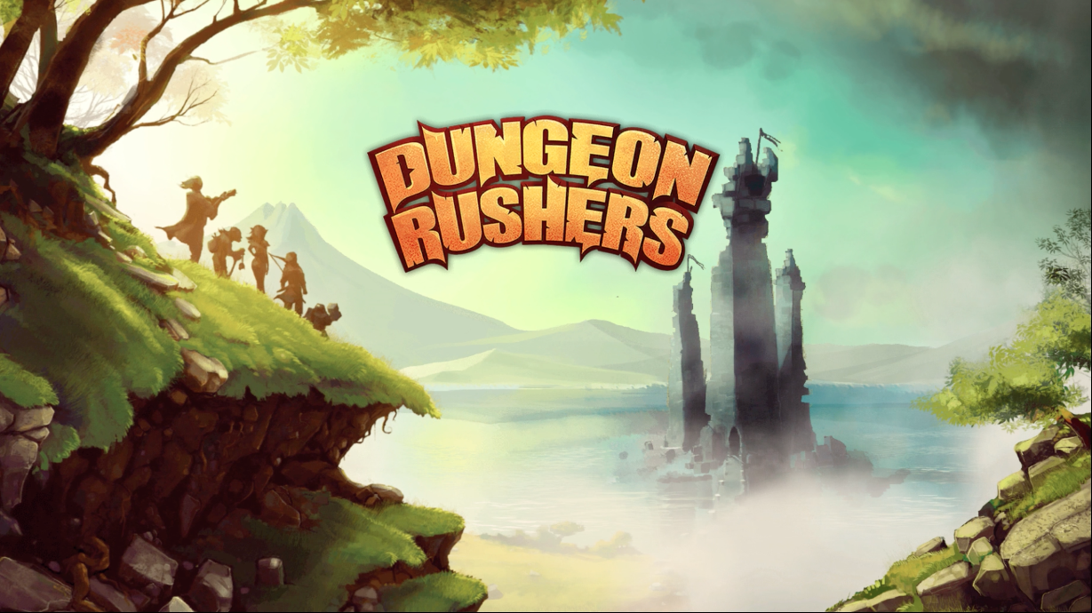 dungeon rushers title screen