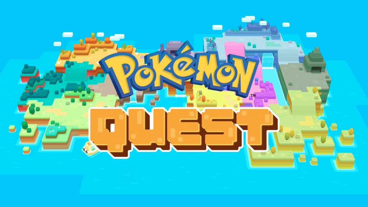 pokemon quest start screen