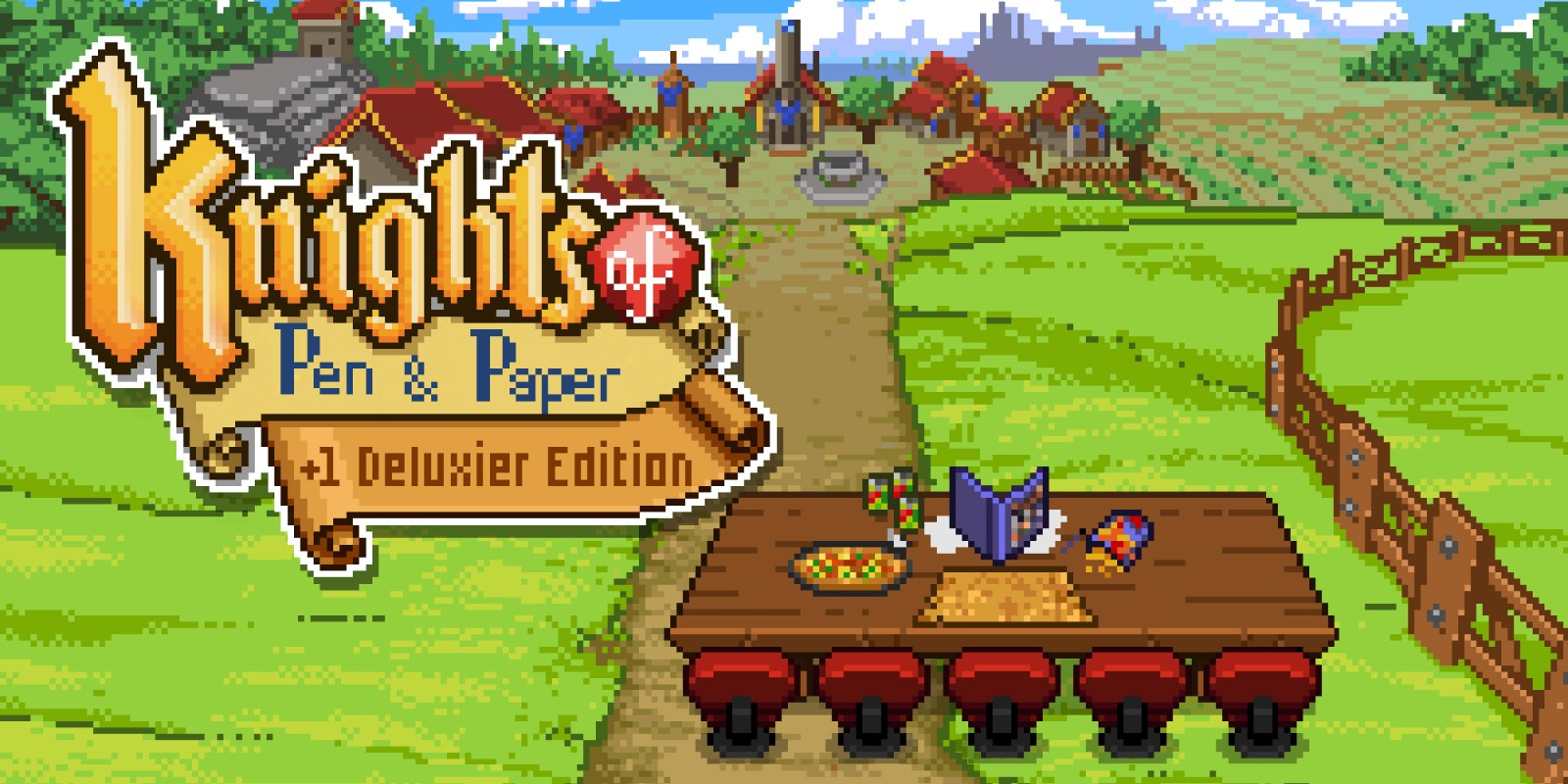 knight of pen and paper banner
