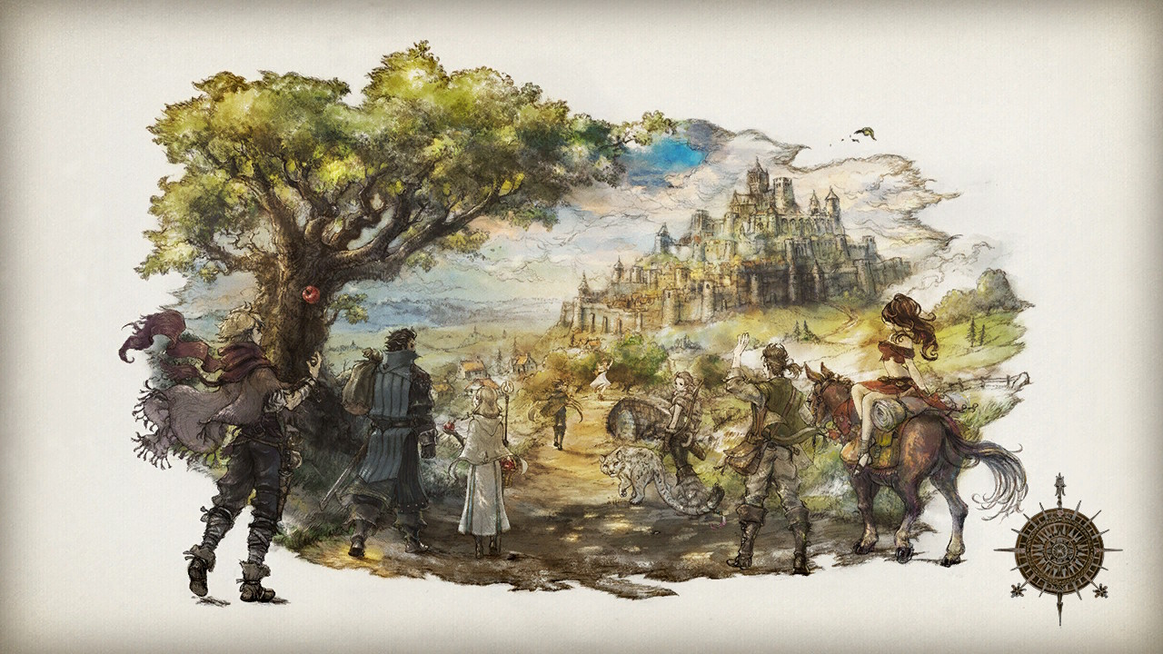 Octopath Traveler: Eight Main Characters