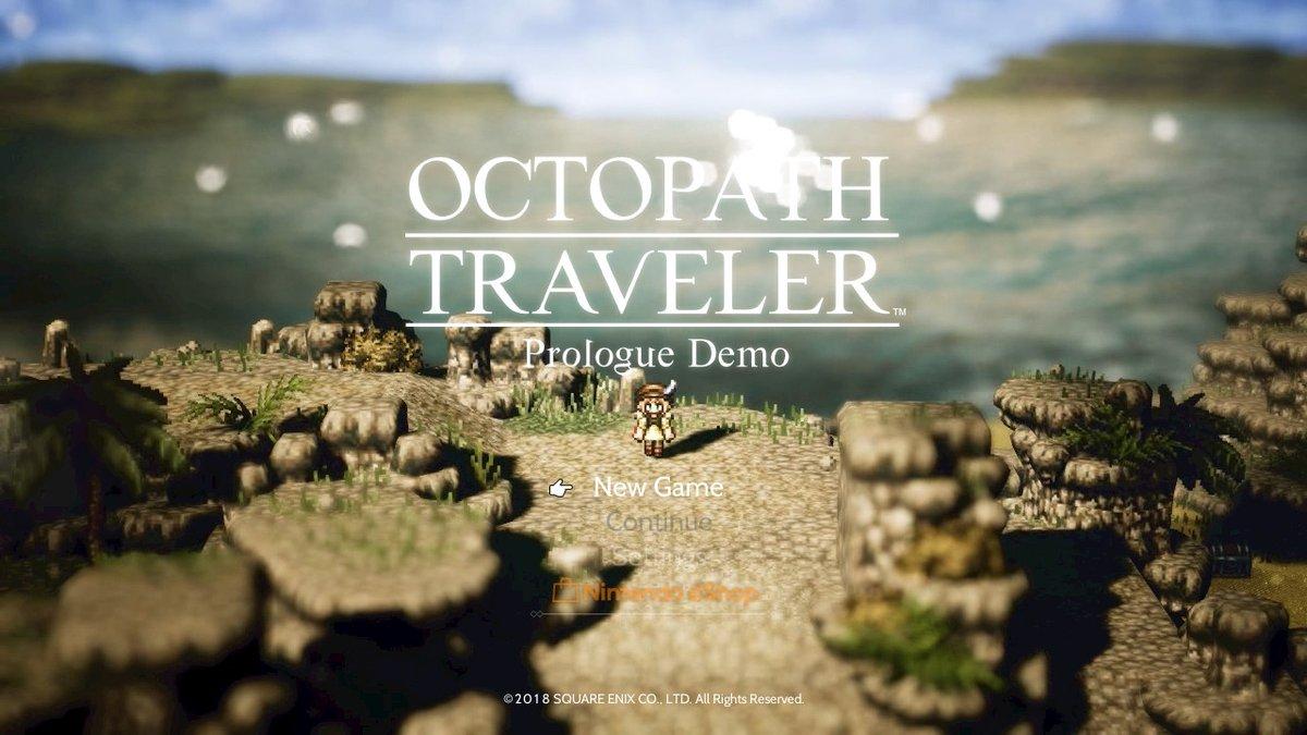 Octopather Traveler Prologue Demo
