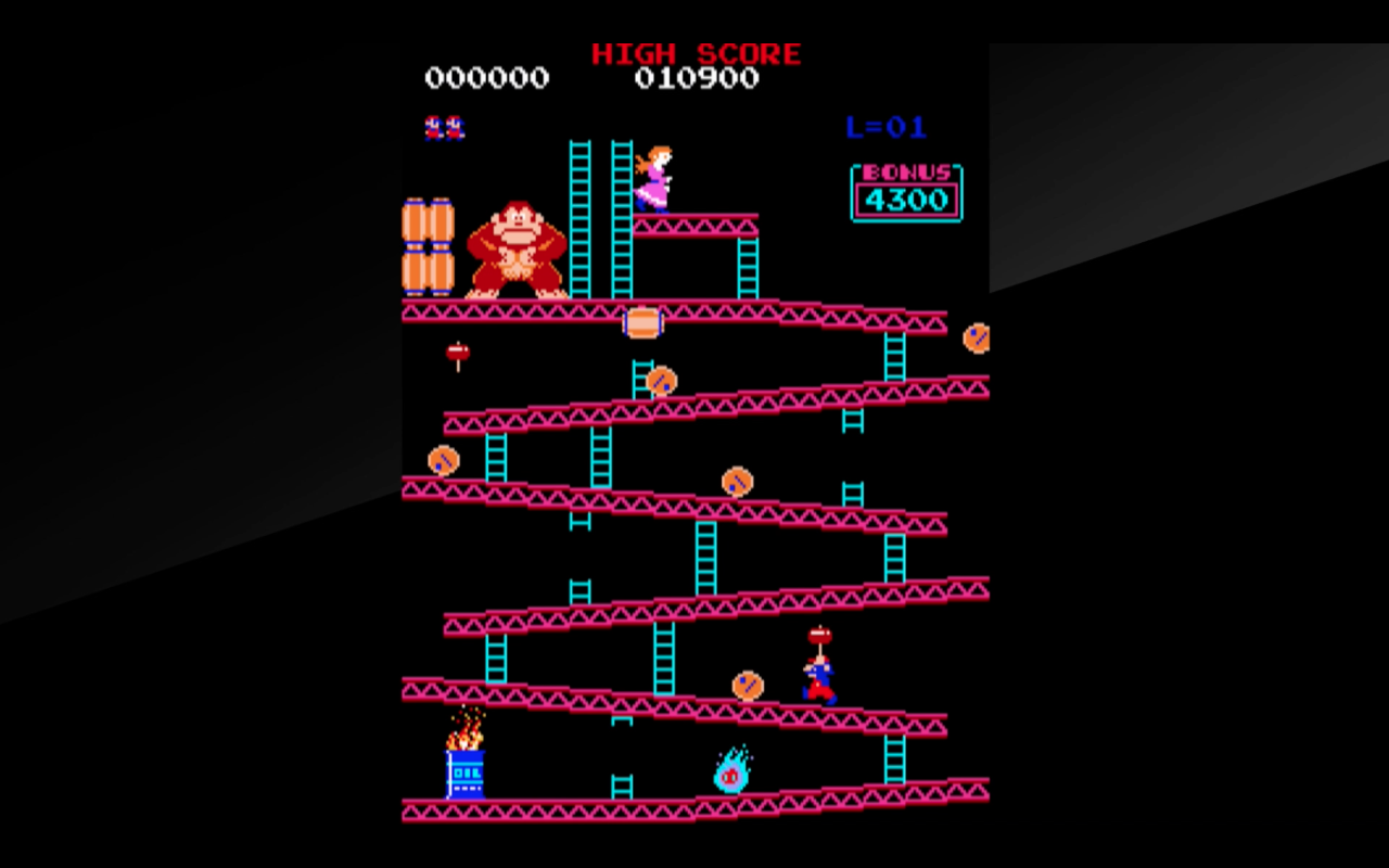 original donkey kong arcade game