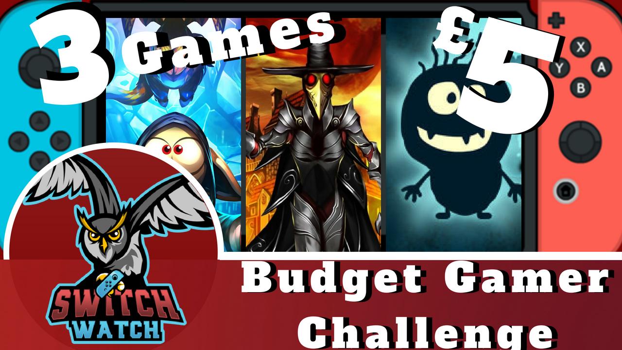 switch budget gamer challenge