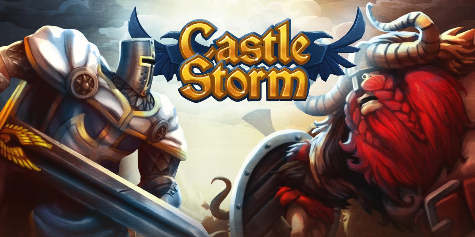 Castle Storm Logo