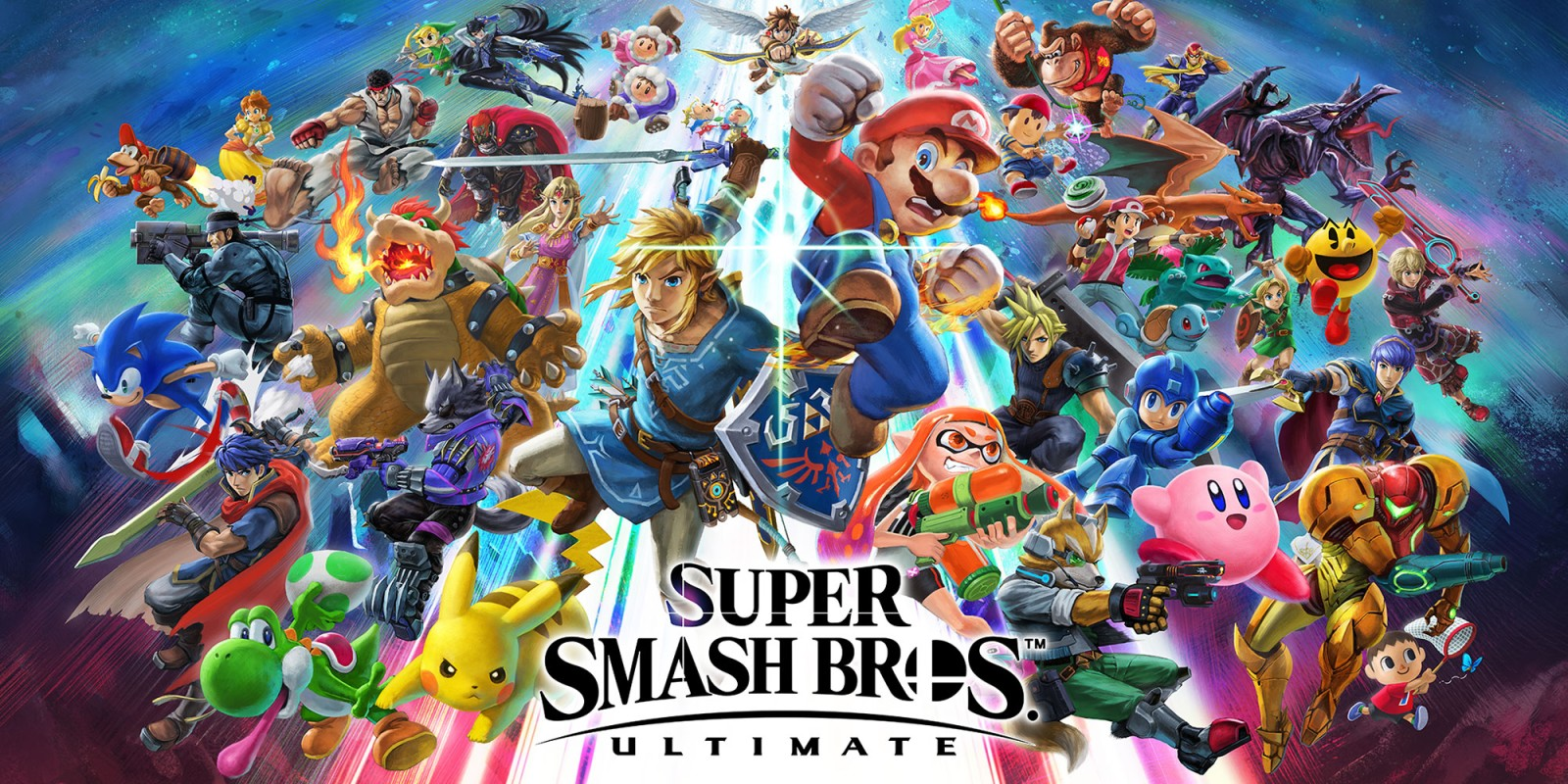 Smash Ultimate Logo