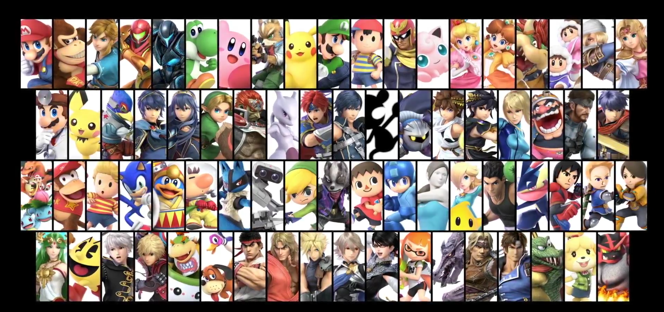 Fighers Super Smash Bros. Ultimate