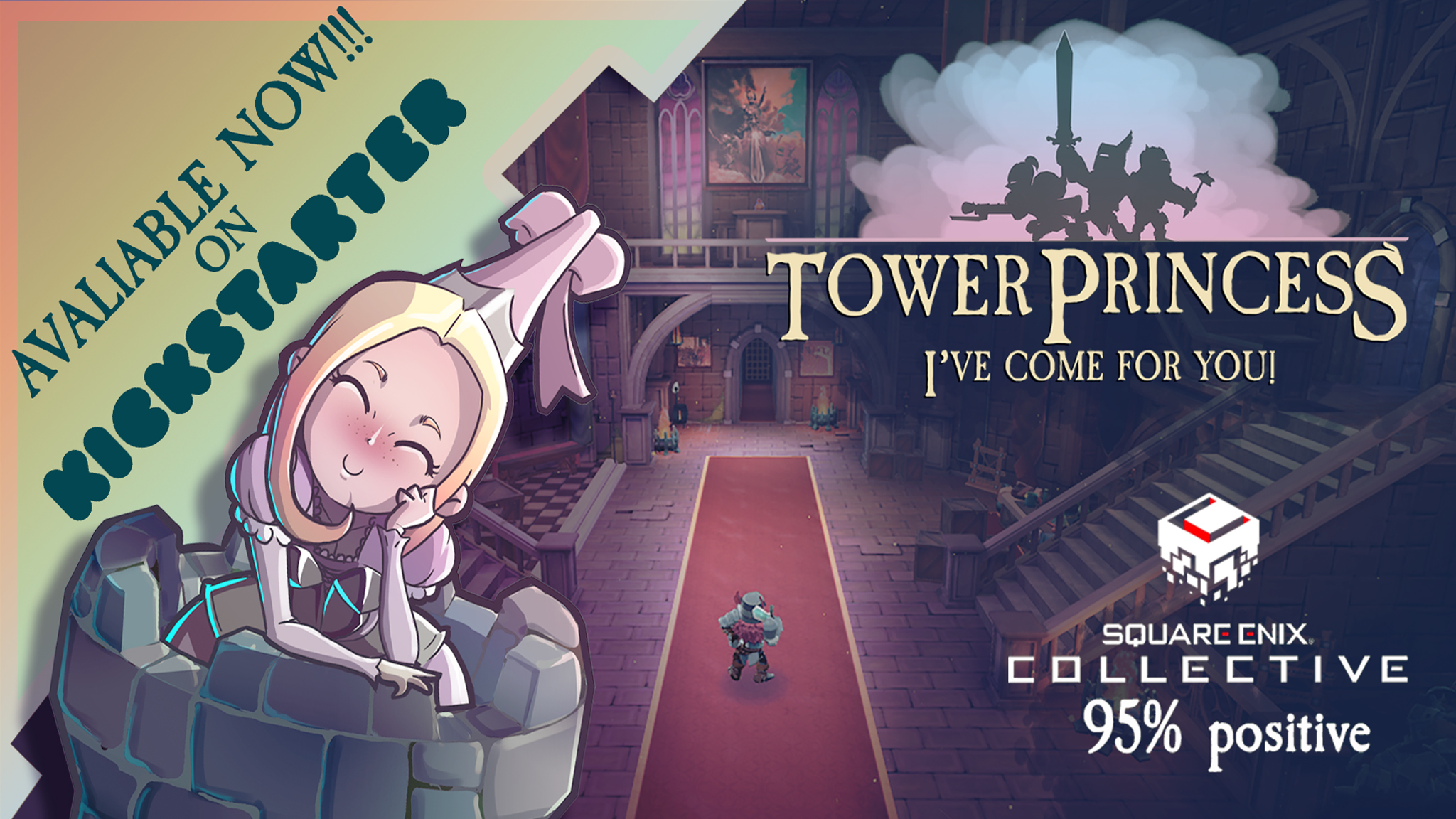 Kickstarter tower princess