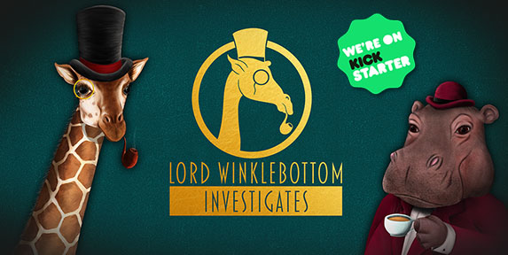 Lord Winklebottom Investigates logo