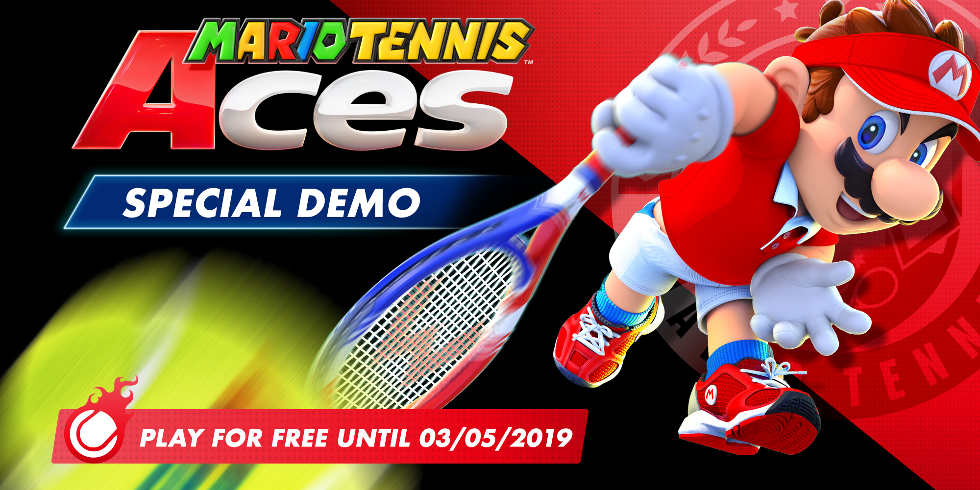 Mario Tennis Aces demo