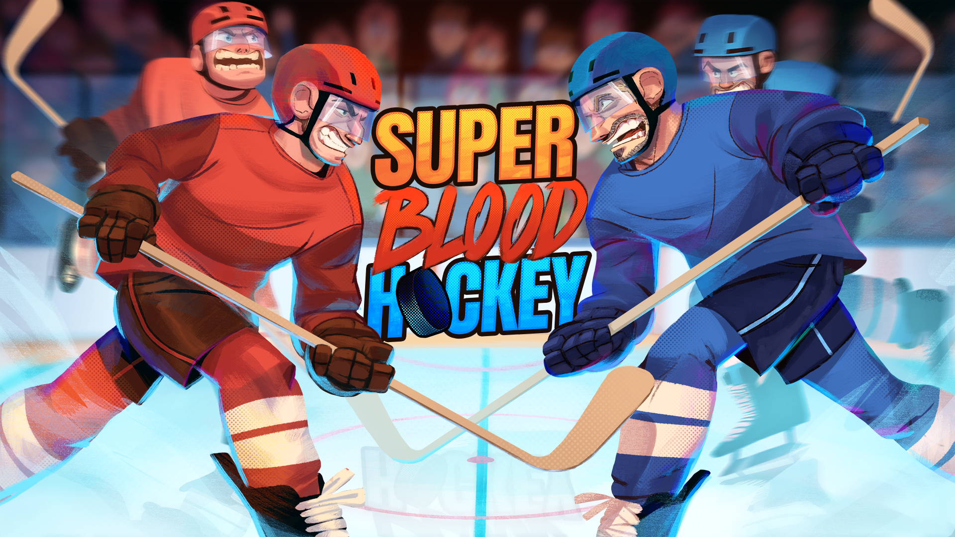 Super Blood Hockey Logo