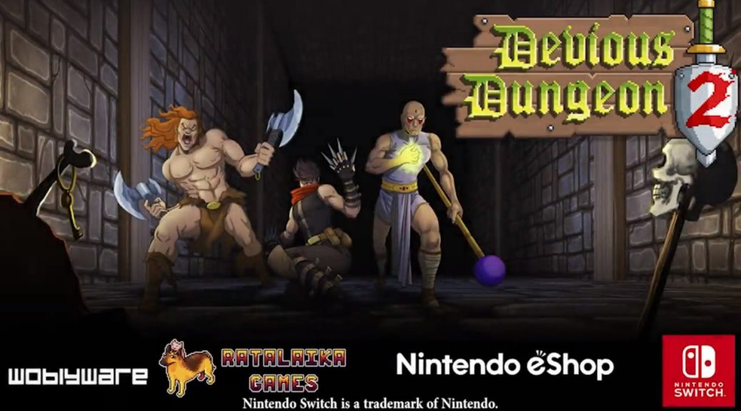 Devious Dungeons 2 Logo