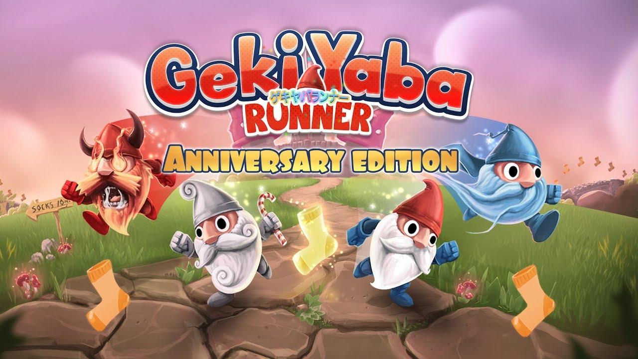 Geki Yaba Runner Logo