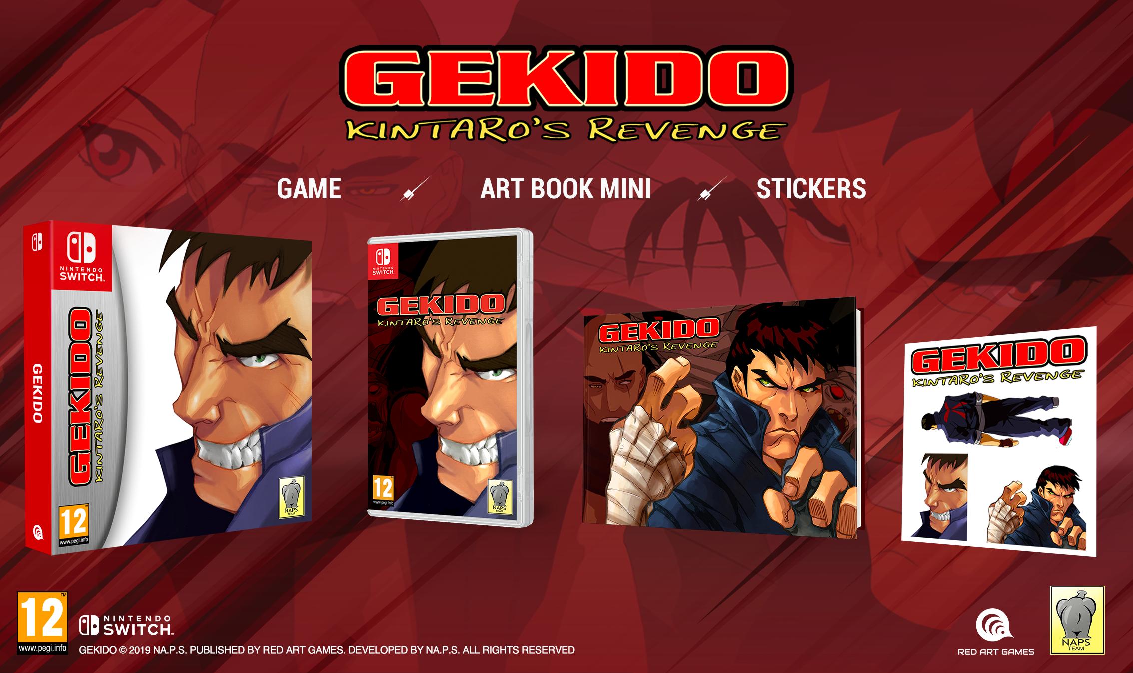 Gekido Switch Pack
