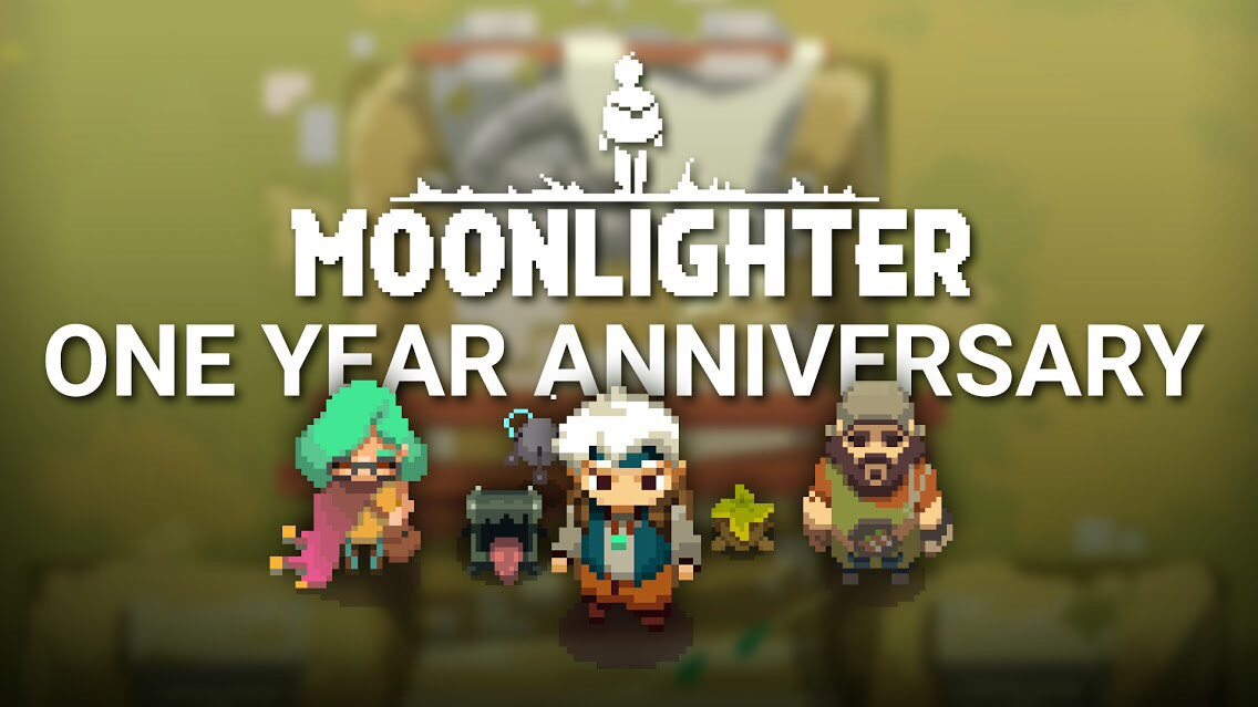 Moonlighter Anniversary DLC Logo