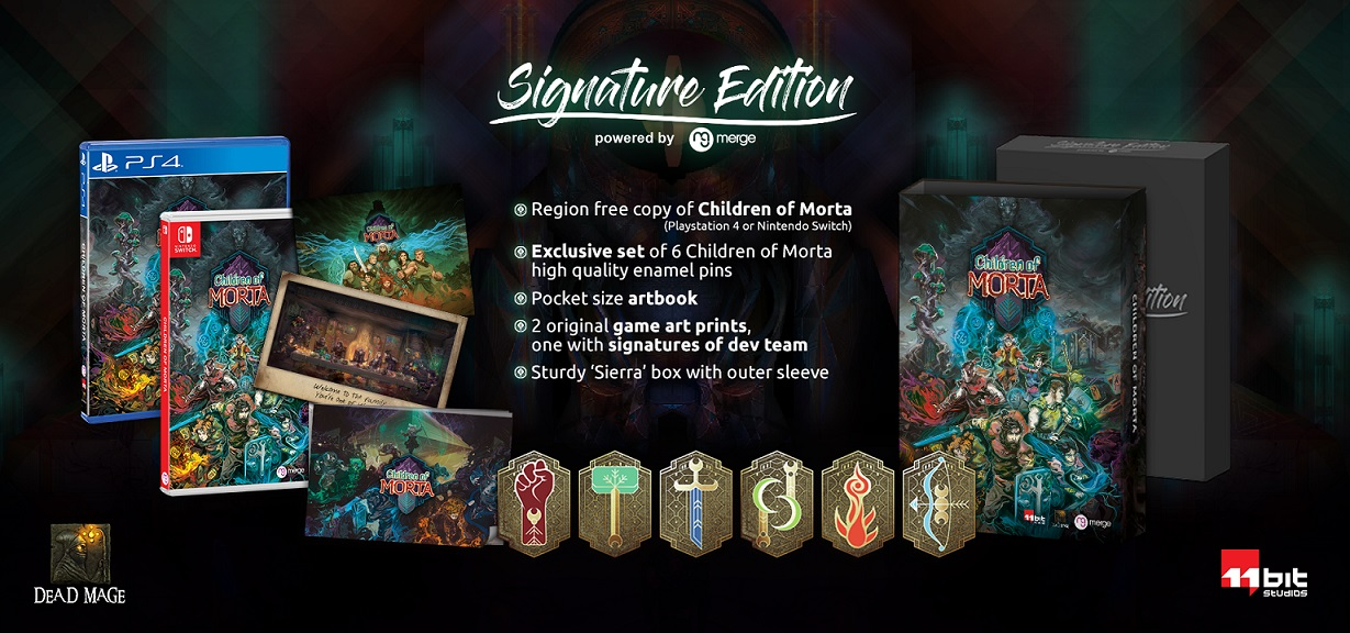 Children of Morta Limited Edition