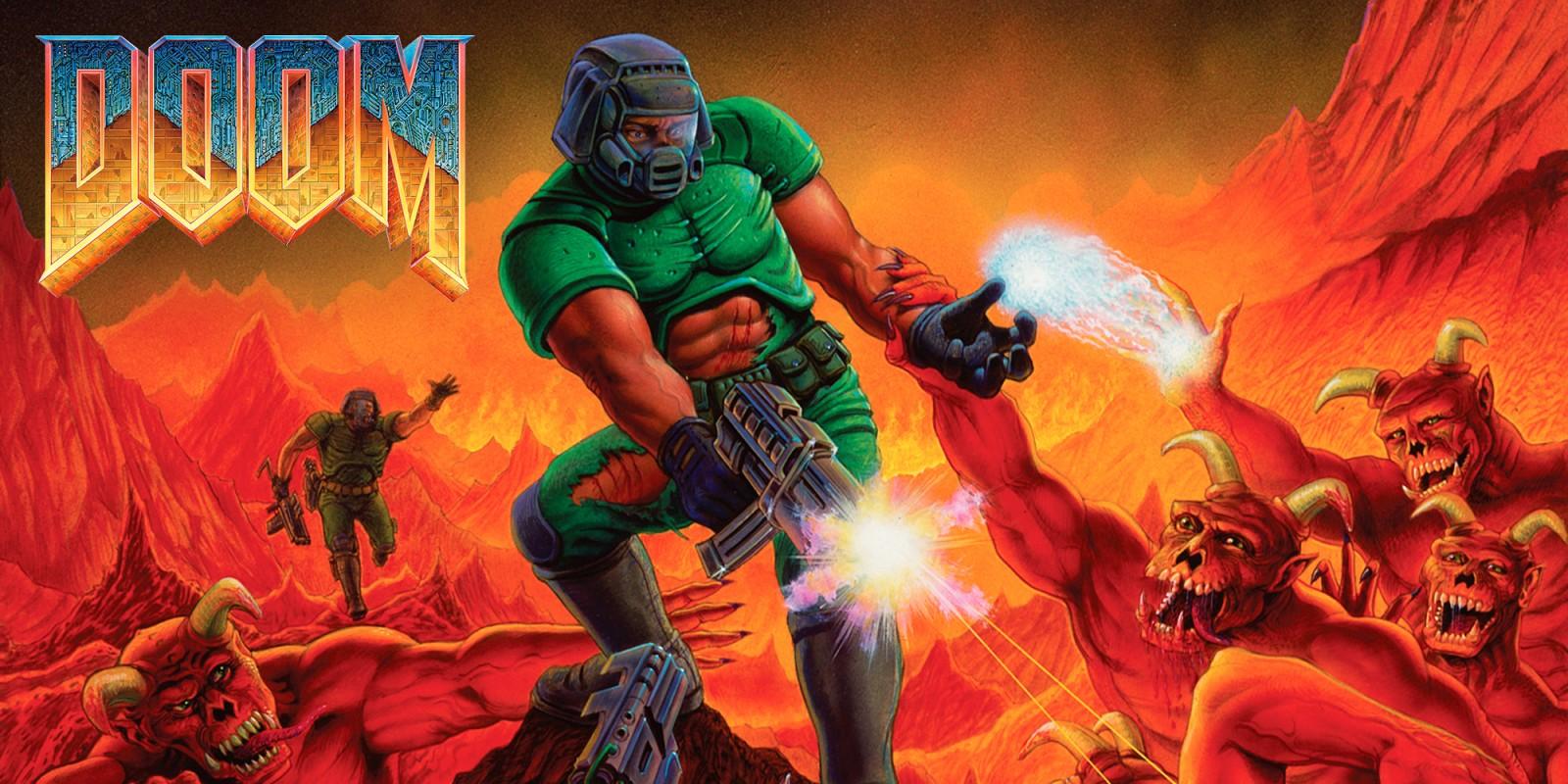 Doom 1993 Logo