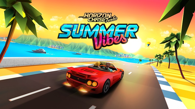 Horizon Chase Turbo Summer Vibes Logo