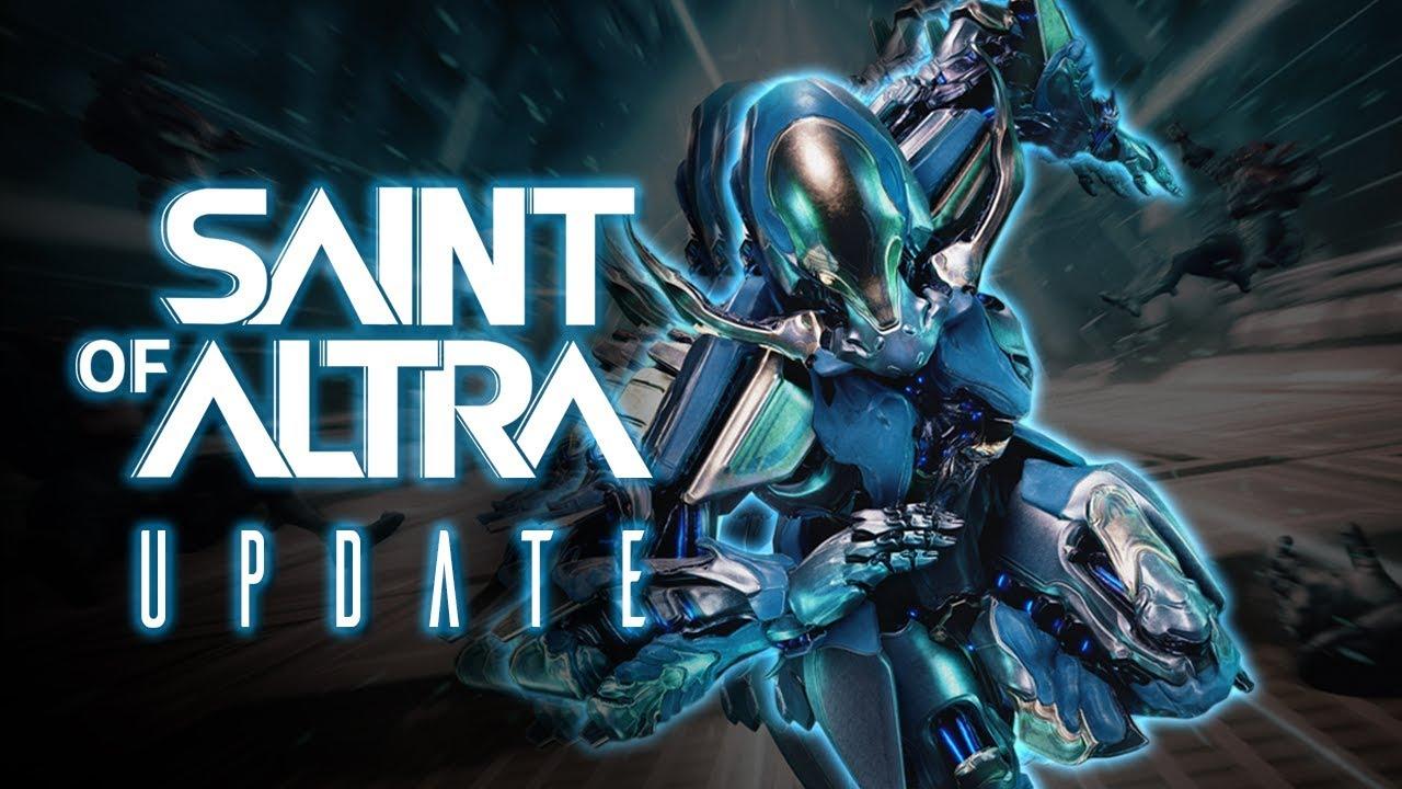 Warframe Saint of Altra Logo