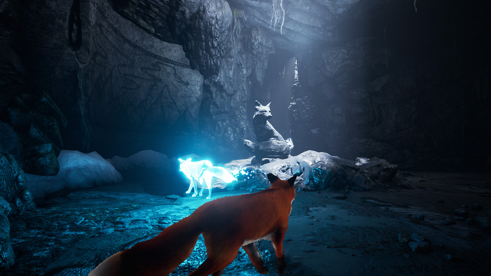Spirit of the North ghost fox game